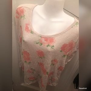 Forever 21 Flower Shirt Size 1X